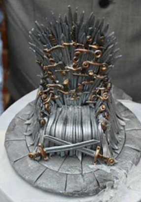 Games of Thrones Winter Is Coming Cake